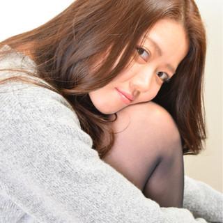 レイヤーカット かわいい コンサバ ロング ヘアスタイルや髪型の写真・画像