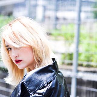 透明感カラー モード 簡単ヘアアレンジ ボブ ヘアスタイルや髪型の写真・画像