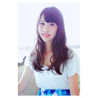 モテ髪 フェミニン 春 ニュアンス ヘアスタイルや髪型の写真・画像