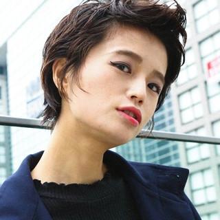 PEEK-A-BOO ハンサムショート ショート 阿藤俊也 ヘアスタイルや髪型の写真・画像