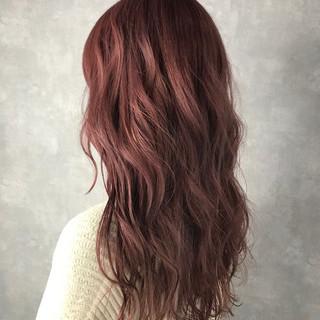 セミロング フェミニン ハイトーン ハイライト ヘアスタイルや髪型の写真・画像 ヘアスタイルや髪型の写真・画像
