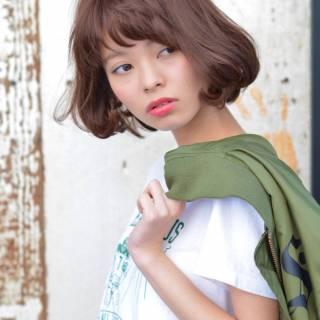 モード ストリート ウェーブ ストレート ヘアスタイルや髪型の写真・画像 ヘアスタイルや髪型の写真・画像