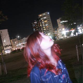 デート ロング 冬 ハロウィン ヘアスタイルや髪型の写真・画像