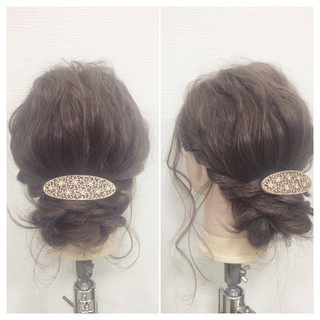 セミロング ショート ゆるふわ フェミニン ヘアスタイルや髪型の写真・画像