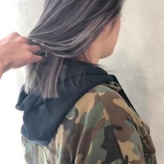 外国人風カラー グレージュ 外国人風 ハイライト ヘアスタイルや髪型の写真・画像 ヘアスタイルや髪型の写真・画像