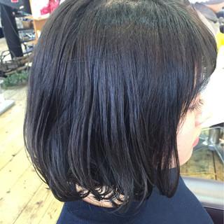 色気 ブルージュ ボブ ウェットヘア ヘアスタイルや髪型の写真・画像