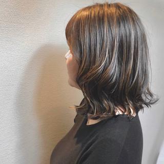 3Dハイライト 大人ハイライト コントラストハイライト ブリーチ ヘアスタイルや髪型の写真・画像