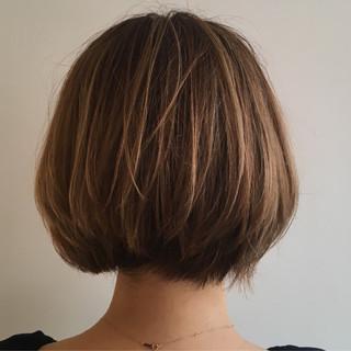 上品 エレガント ハイライト グレージュ ヘアスタイルや髪型の写真・画像