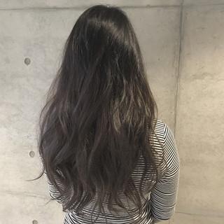 アッシュ 暗髪 ナチュラル グラデーションカラー ヘアスタイルや髪型の写真・画像 ヘアスタイルや髪型の写真・画像