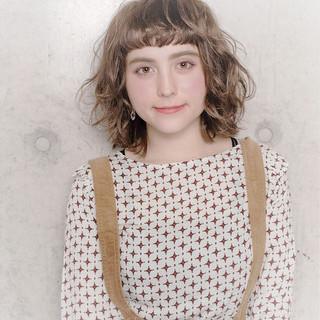 女子力 ウェーブ フェミニン 透明感 ヘアスタイルや髪型の写真・画像