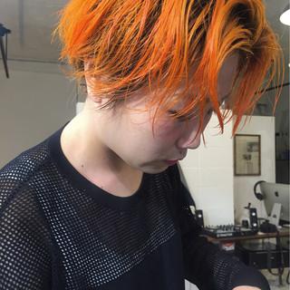 大人かわいい ウェットヘア ストリート ショート ヘアスタイルや髪型の写真・画像