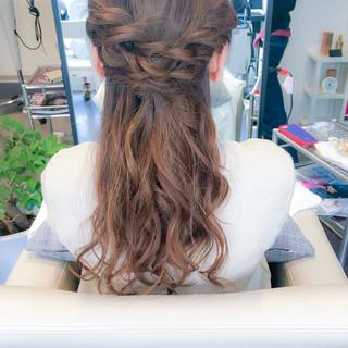 ヘアアレンジ ロング エレガント 簡単ヘアアレンジ ヘアスタイルや髪型の写真・画像 ヘアスタイルや髪型の写真・画像