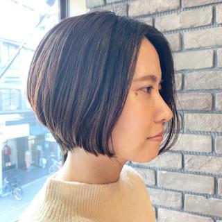 アンニュイほつれヘア ハンサムショート ナチュラル ショート ヘアスタイルや髪型の写真・画像 ヘアスタイルや髪型の写真・画像