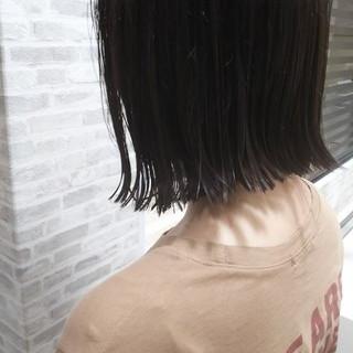 ブルー ヘアカラー ガーリー グラデーションカラー ヘアスタイルや髪型の写真・画像