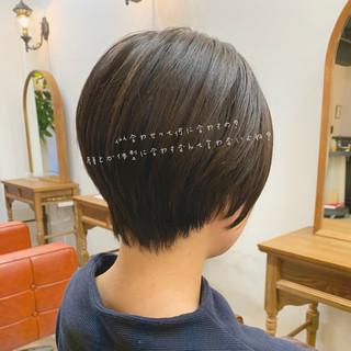 こなれ感 ゆるふわ ショート デート ヘアスタイルや髪型の写真・画像