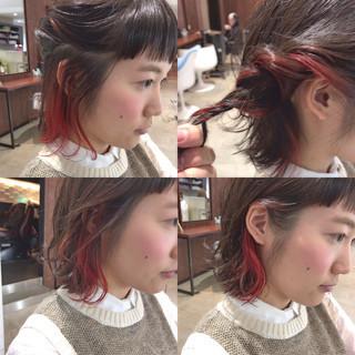 ショート 色気 ガーリー 暗髪 ヘアスタイルや髪型の写真・画像