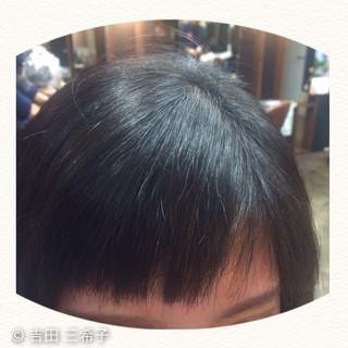 前髪あり ショート 前髪パッツン 前髪アレンジ ヘアスタイルや髪型の写真・画像 ヘアスタイルや髪型の写真・画像
