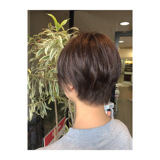 色気 ショート ゆるふわ コンサバ ヘアスタイルや髪型の写真・画像 ヘアスタイルや髪型の写真・画像