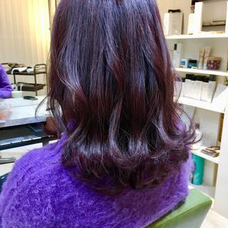 ブリーチ ピンク ダブルカラー パープル ヘアスタイルや髪型の写真・画像 ヘアスタイルや髪型の写真・画像