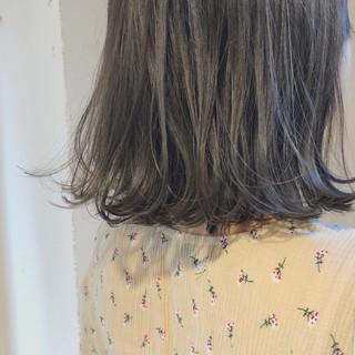 涼しげ ヘアアレンジ ミディアム 大人かわいい ヘアスタイルや髪型の写真・画像