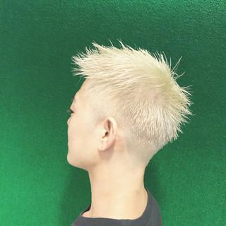 ボーイッシュ メンズ 外国人風カラー ストリート ヘアスタイルや髪型の写真・画像 ヘアスタイルや髪型の写真・画像