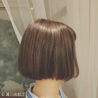 外国人風 ゆるふわ モード ハイライト ヘアスタイルや髪型の写真・画像