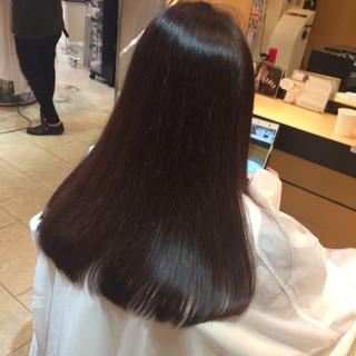 ナチュラル ロング 外国人風カラー イルミナカラー ヘアスタイルや髪型の写真・画像