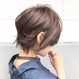 リラックス スポーツ ショート 秋 ヘアスタイルや髪型の写真・画像