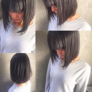 暗髪 外国人風 大人かわいい ナチュラル ヘアスタイルや髪型の写真・画像 ヘアスタイルや髪型の写真・画像