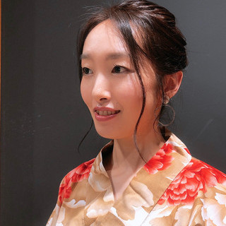 黒髪 浴衣アレンジ ヘアアレンジ ナチュラル ヘアスタイルや髪型の写真・画像 | 橙子 /