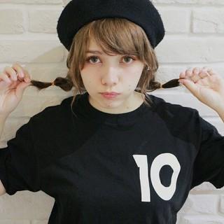 ショート 大人女子 ゆるふわ ベレー帽 ヘアスタイルや髪型の写真・画像 ヘアスタイルや髪型の写真・画像
