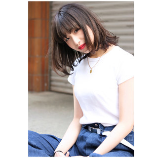 ストリート ハイライト 外国人風カラー 外国人風 ヘアスタイルや髪型の写真・画像