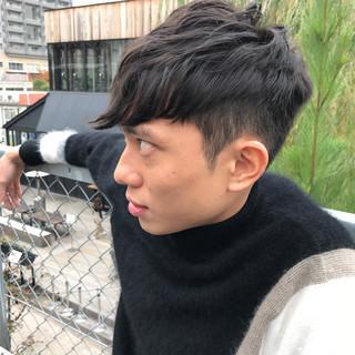 黒髪 ナチュラル 坊主 ショート ヘアスタイルや髪型の写真・画像