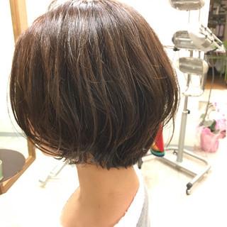 八田幸子さんのヘアスナップ