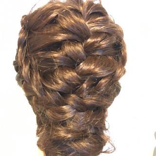 エレガント 成人式 ロング 和装髪型 ヘアスタイルや髪型の写真・画像