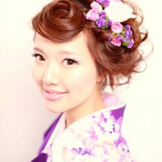 ガーリー 愛され ヘアアレンジ 編み込み ヘアスタイルや髪型の写真・画像 ヘアスタイルや髪型の写真・画像