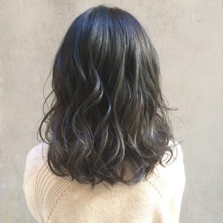 透明感カラー アンニュイほつれヘア 暗髪 外国人風カラー ヘアスタイルや髪型の写真・画像