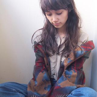 ロング 大人女子 小顔 ミルクティー ヘアスタイルや髪型の写真・画像