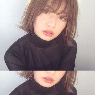 ピュア 色気 前髪あり 冬 ヘアスタイルや髪型の写真・画像
