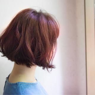 フェミニン 前下がり 大人かわいい 色気 ヘアスタイルや髪型の写真・画像