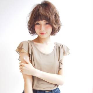 ゆるふわ おフェロ フェミニン 大人かわいい ヘアスタイルや髪型の写真・画像
