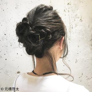 ヘアアレンジ アッシュ ゆるふわ 大人女子 ヘアスタイルや髪型の写真・画像