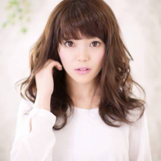 コンサバ 秋 モテ髪 セミロング ヘアスタイルや髪型の写真・画像 ヘアスタイルや髪型の写真・画像
