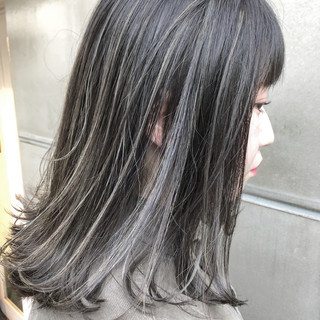 3Dハイライト アンニュイほつれヘア ハイライト 簡単ヘアアレンジ ヘアスタイルや髪型の写真・画像