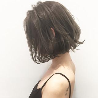 アッシュ 外国人風 暗髪 ストリート ヘアスタイルや髪型の写真・画像