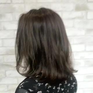 ミディアム パーマ ゆるふわ 大人かわいい ヘアスタイルや髪型の写真・画像 ヘアスタイルや髪型の写真・画像