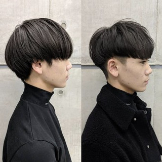 ショート 刈り上げ メンズマッシュ ショートマッシュ ヘアスタイルや髪型の写真・画像