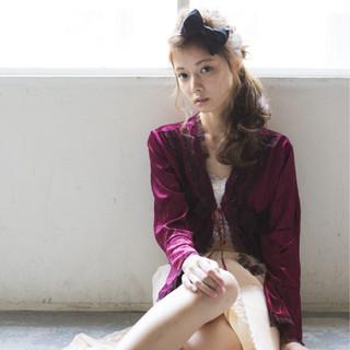ロング ガーリー 外国人風 大人かわいい ヘアスタイルや髪型の写真・画像
