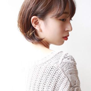 ショート 大人かわいい エレガント 大人女子 ヘアスタイルや髪型の写真・画像