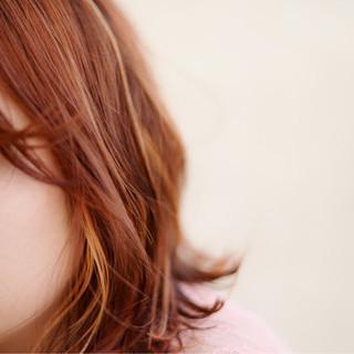 グラデーションカラー 外国人風 ハイトーン インナーカラー ヘアスタイルや髪型の写真・画像